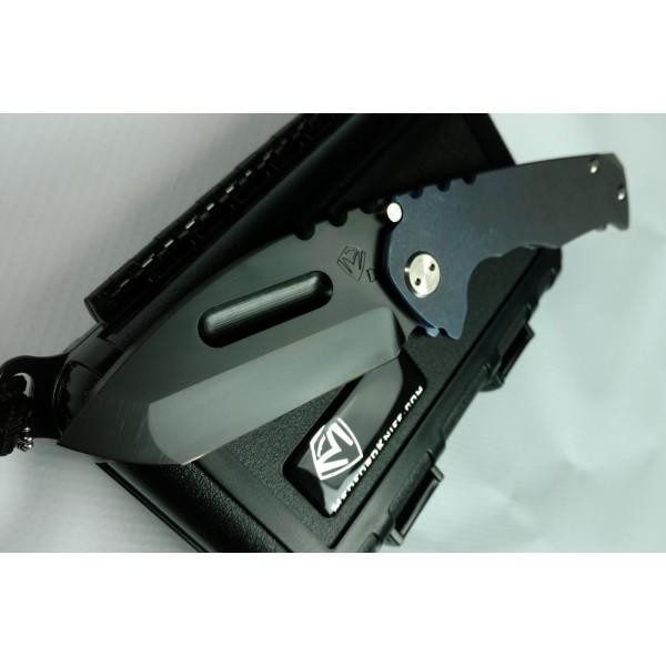 Medford Knife and Tool Praetorian Genesis Blue w PVD Blade